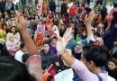 ছাত্রী উদ্ধারের দাবিতে রাবি ভিসির বাসভবন ঘেরাও