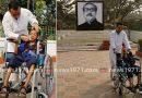 হেমায়েতপুরে প্রতিবন্ধীদের মাঝে হুইল চেয়ার বিতরণ