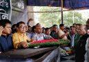 শহীদ মিনারে গোলাম সারওয়ারকে সর্বস্তরের মানুষের শ্রদ্ধা